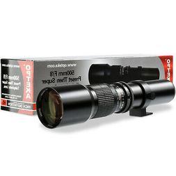 Opteka 500mm f/8 Telephoto Lens for Nikon D80, D70s, D70, D5