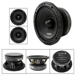"2 Orion 6.5"" Inch Mid Range Bass Speaker 1600 Watts Max Powe"