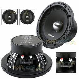 """2 Orion Audio 1400 W Watt 6.5"""" Mid Range Bass Loud 4 Ohm Spe"""