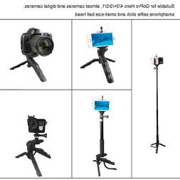 Andoer 2 in 1 Mini Portable Folding Table-top Tripod Stand+