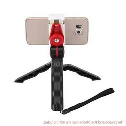 Andoer 2in1 Mini Portable Folding Table-top Tripod Stand + H