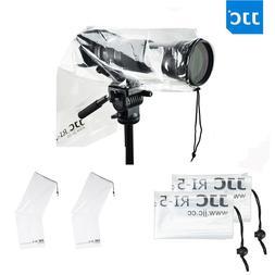 "JJC 2PCS 18""X7"" Water-Resistant Camera Rain Cover Protector"