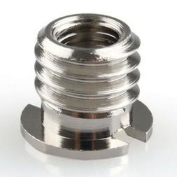 3/8 to 1/4 inch Convert Screw Adapter Tripod Monopod Camera