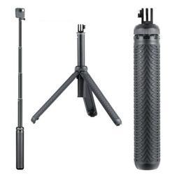 3in1 Extendable Monopod Selfie Stick Grip Handle Tripod for