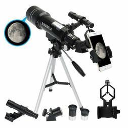 Refractor Astronomical Telescope Optical Prism W/ Tripod &Ph