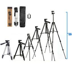 """46"""" Professional Camera Tripod Stand Holder Mount for iPhone"""