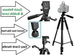 """60"""" Pro Series Tripod With Case For JVC Everio GZ-R320 GZ-R7"""