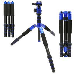 koolehaoda 62-Inch Aluminum Camera Tripod 3 Leg Removable Mo
