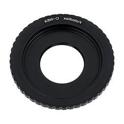 Fotodiox Lens Mount Adapter - C-Mount CCTV/Cine Lens to Sony