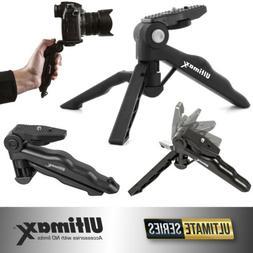 Ultimaxx Adjustable 6.5 Inch Tabletop Tripod/Pistol Grip for