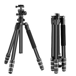 """Neewer Aluminum Alloy 56"""" Camera Travel Tripod with 360 Degr"""
