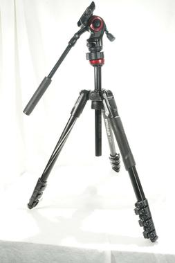 Manfrotto Befree Live Aluminum Tripod  with Fluid Video Head