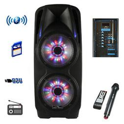 Befree Sound Bfs7900 2X10 Inch Woofer Portable Bluetooth Pow
