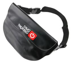 DURAGADGET Black Water-Resistant Pouch with Adjustable Strap