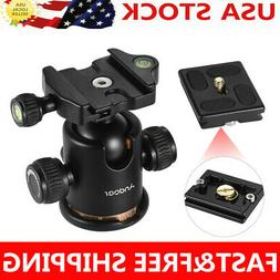Andoer Camera Tripod Ball Head Ballhead with Quick Release P