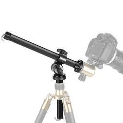 Neewer Camera Tripod Boom Arm: External Multi-Angle Center C