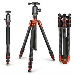 Carbon Fiber 67 inches lightweight Tripod Monopod with 360 D