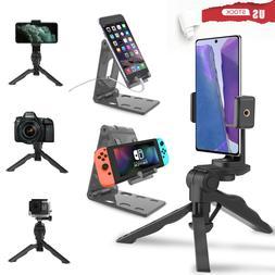 Cell Phone Fordable Desk Stand Holder Mount Cradle Dock iPho