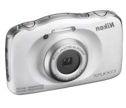 Nikon COOLPIX W100 13.2 MP Digital Camera - White