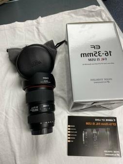 Canon EF 16-35mm F/4 L IS USM Used *EXCELLENT* + *FREE SHIPP