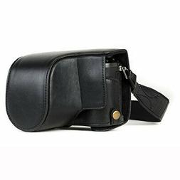 """MegaGear """"Ever Ready Leather Camera Case - Easy to Install,"""