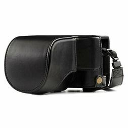 MegaGear Ever Ready Leather Camera Case – Easy to Install,