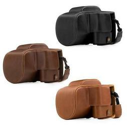 "MegaGear ""Ever Ready"" Leather Camera Case for Panasonic Lumi"