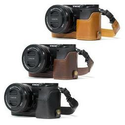"MegaGear ""Ever Ready"" Leather Camera Case for Sony Alpha a63"