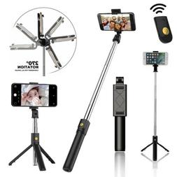 Extendable Selfie Stick Monopod Tripod Mount Remote Shutter