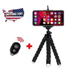 Flexible Smartphone Tripod Bluetooth with Remote for Phones