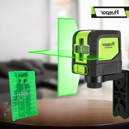 Huepar Green Laser Level DIY Cross Line Laser Self Leveling