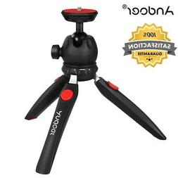 "Andoer H20 Mini Tripod Tabletop Stick with 1/4"" Mounting Scr"