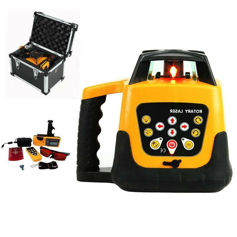 360 automatic self leveling rotary rotating red