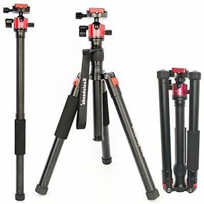 55 inch lightweight camera tripod monopod