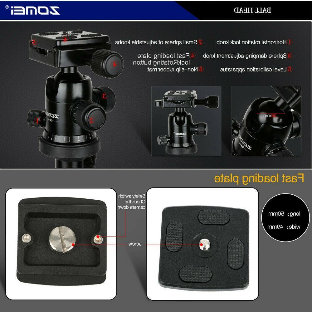 ZOMEI Aluminum Travel Monopod For Q666