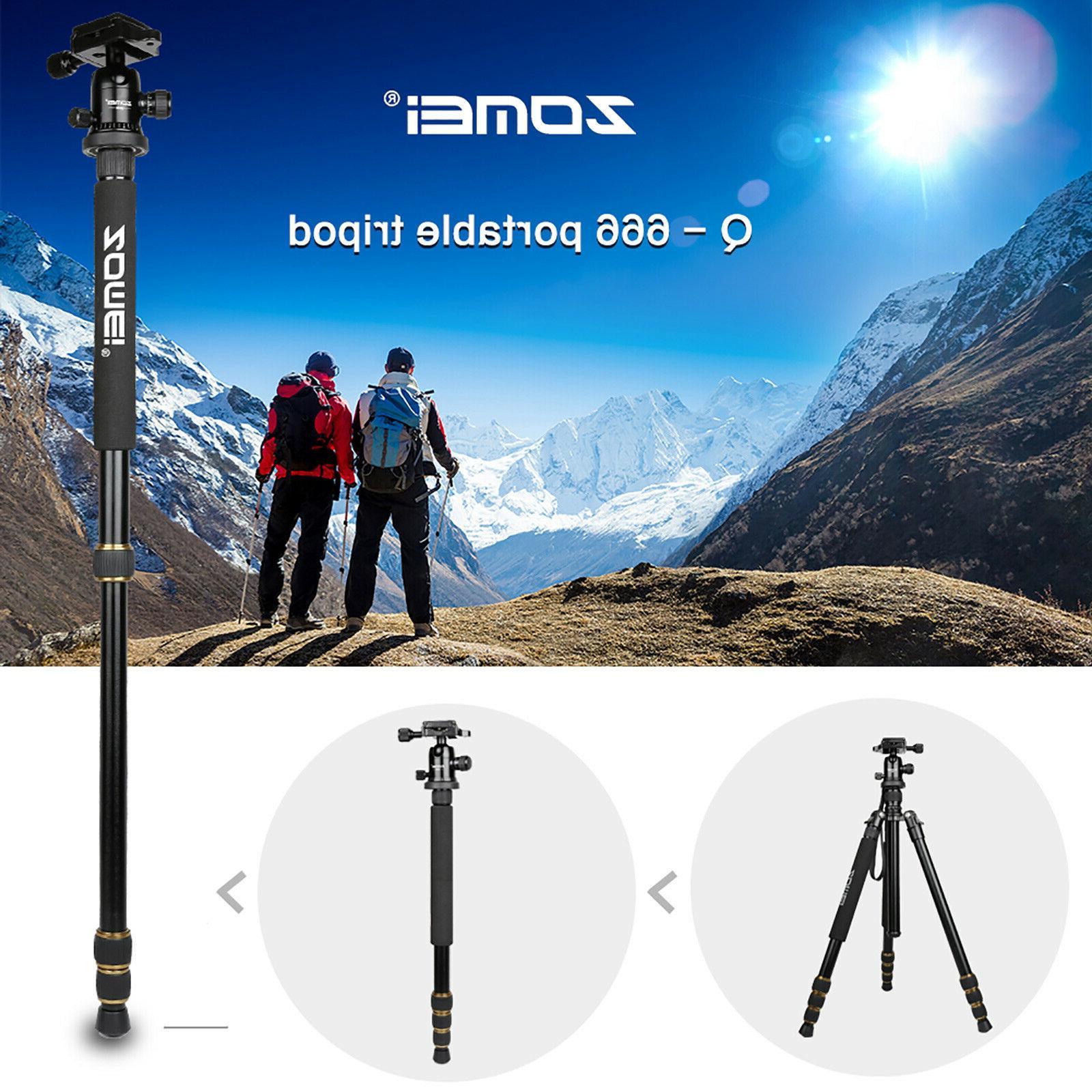 ZOMEI Aluminum Monopod Head For DSLR Camera Q666