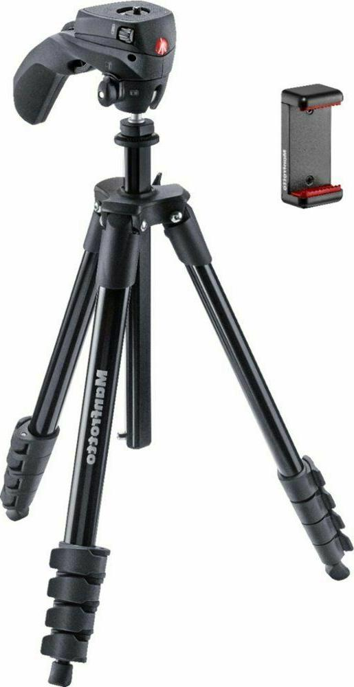 Manfrotto Compact Action Smart Tripod with Joystick Head and