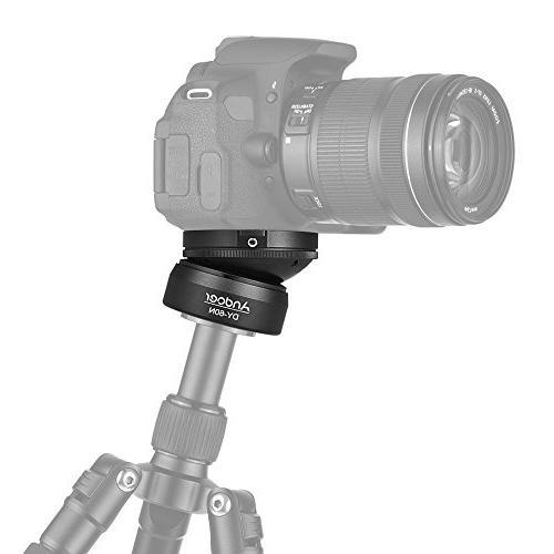 Andoer Leveling Base Adjusting Plate Aluminum Level Bag Nikon DSLR