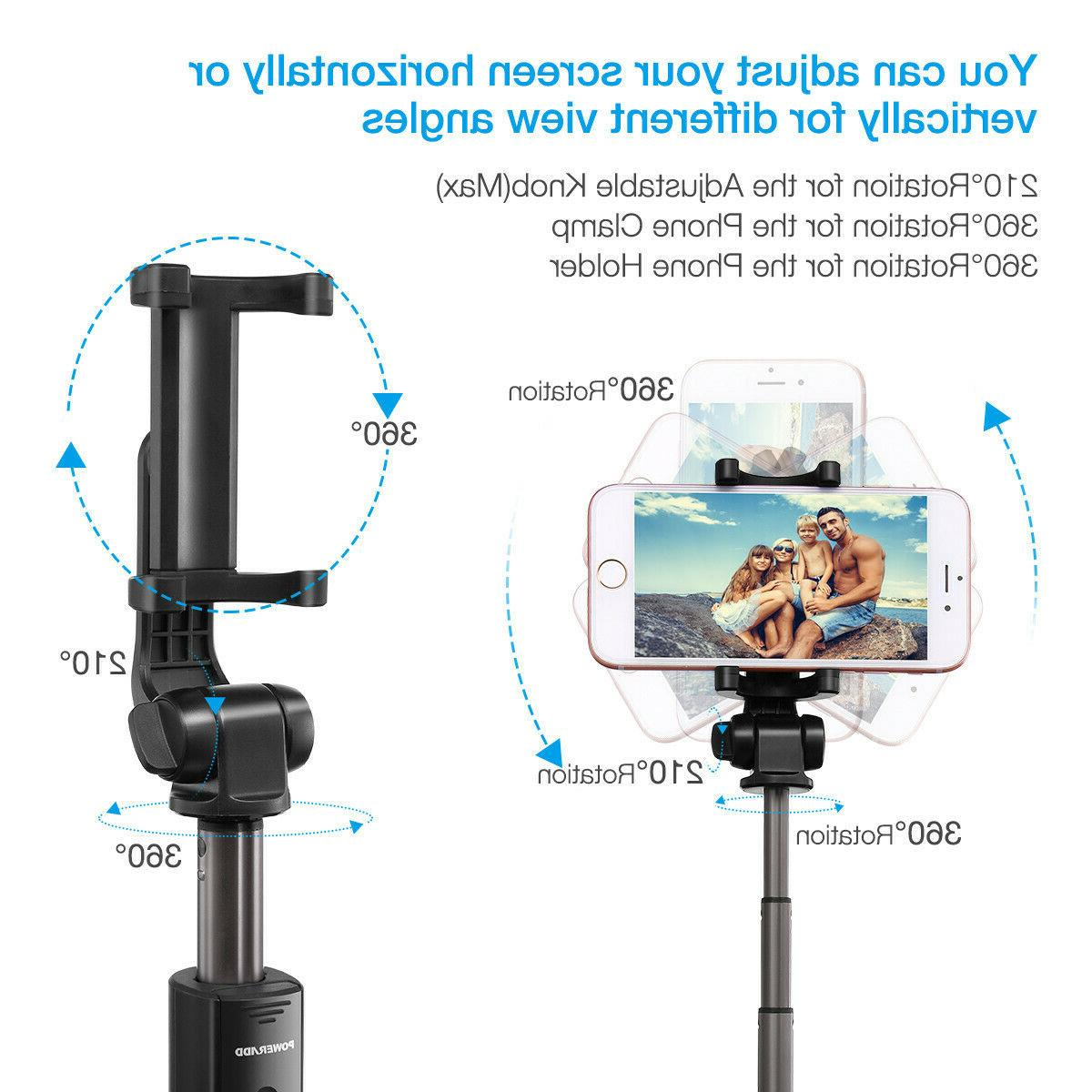 Extendable Stick Tripod Cell + Remote Shutter