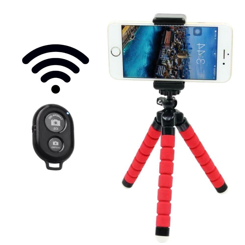 Flexible Small Octopus Mini Tripod Bluetooth Stand