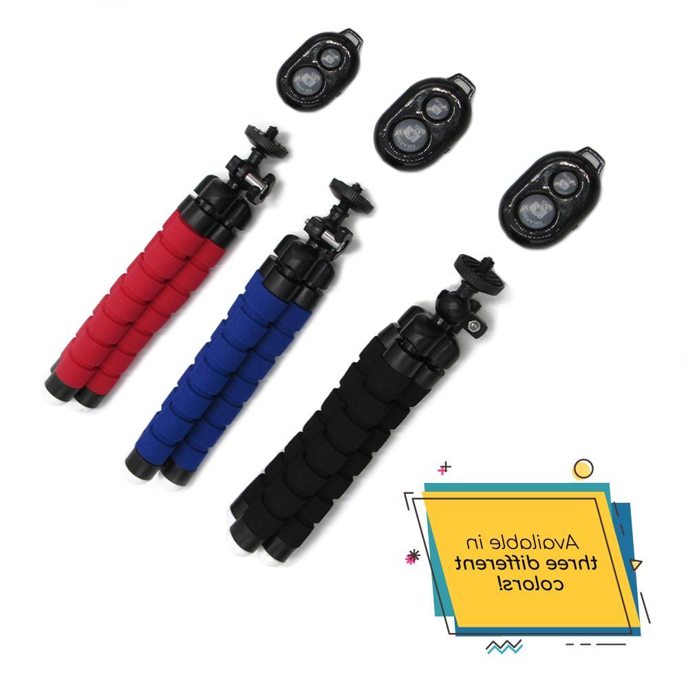 Flexible Small Mini Bluetooth Remote Stand Holder