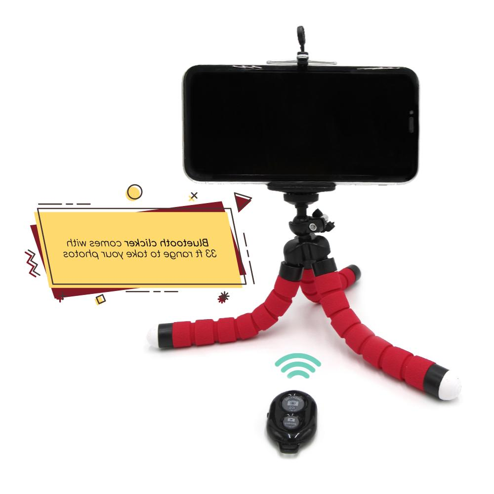 Flexible Mount Mini Bluetooth Stand Holder iPhone