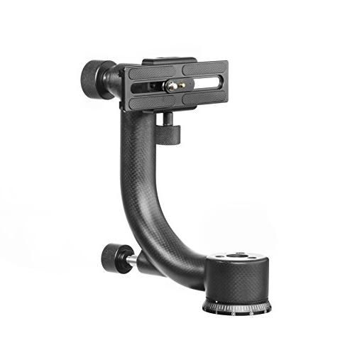 Movo Carbon Fiber Gimbal Head Arca-Swiss Quick-Release Plate