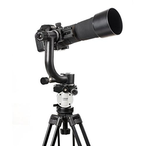 Movo Carbon Gimbal Head with Arca-Swiss Plate