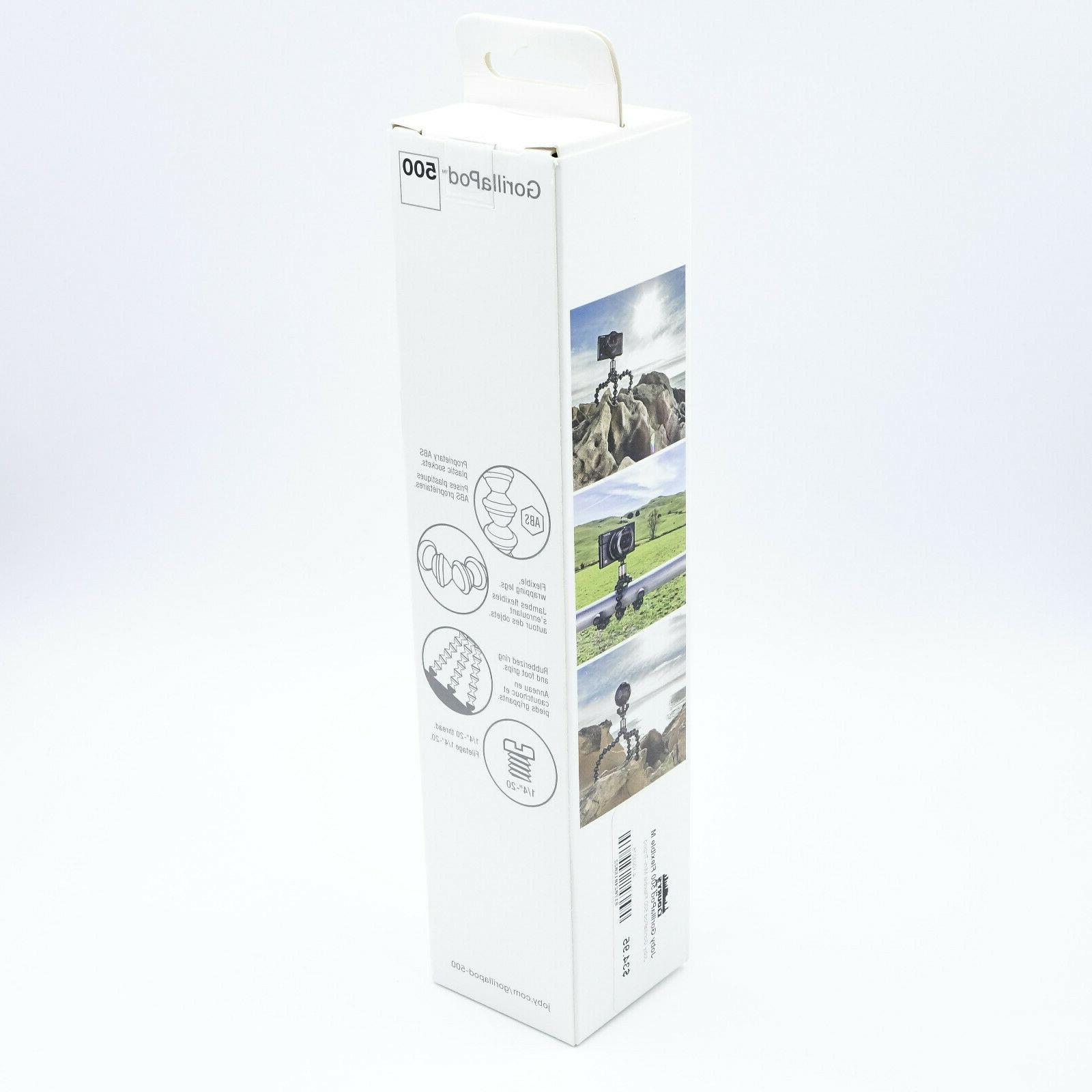 JOBY GorillaPod Flexible Mini-Tripod W/ GP500-01WW DR6169