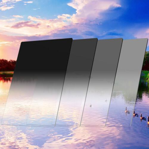 ZOMEI 100mm Gradual Neutral Density Square Filter ND2+4+8+16