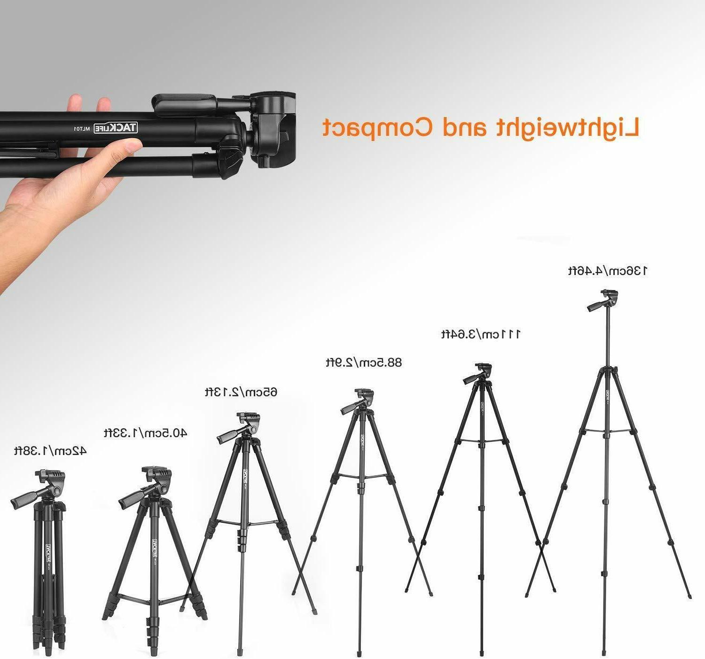 Lightweight 55-Inch, Aluminum Travel/Camera/Phone Bag,