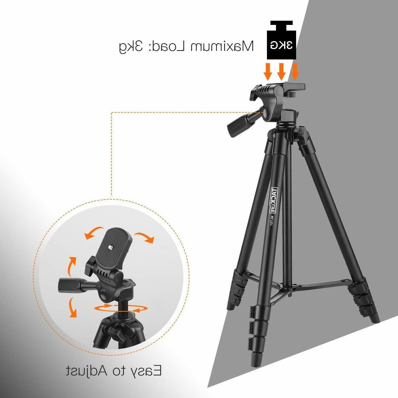 Lightweight Aluminum Travel/Camera/Phone with Bag,
