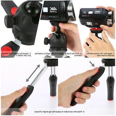 Andoer Portable Ball Head 1/4'' for DSLR Camera Light
