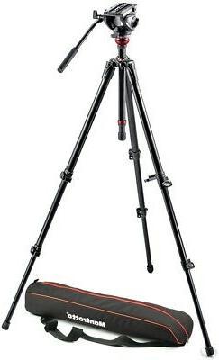 Manfrotto MVH500AH Professional Fluid Video System, Aluminum
